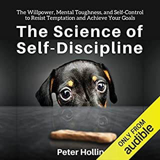 The Science of Self-Discipline audiobook cover art