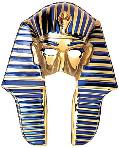 Careta de Tutankamon de plástico
