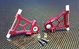 GPM Tamiya TT-02 Upgrade Parts Aluminium Front Lower Arm - 1Pr Red