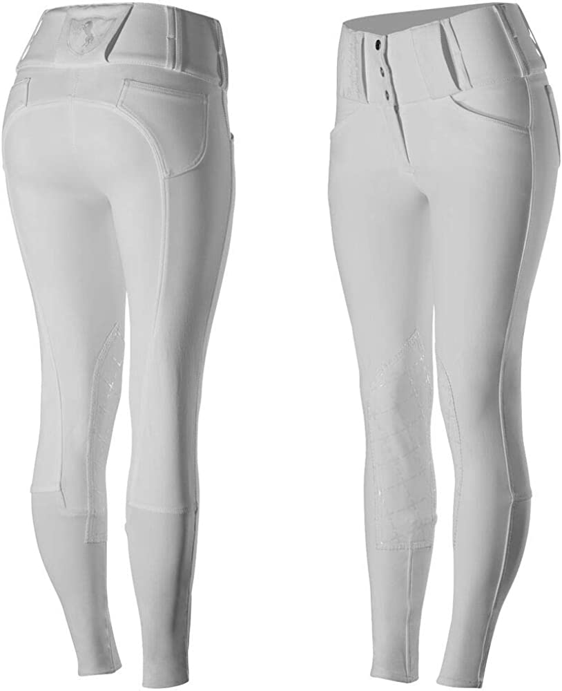 HORZE Womens Desiree Patch Houston Mall Knee Breeches Max 51% OFF