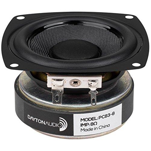 "Dayton Audio PC83-8 3"" Full-Range Poly Cone Driver"
