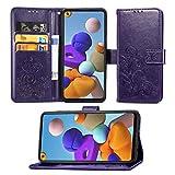 HEYB Custodia Oppo Reno 4 PRO Cover,Pelle Premium Magnetica [Slot per schede] Flip Case Cover per Oppo Reno 4 PRO Smartphone