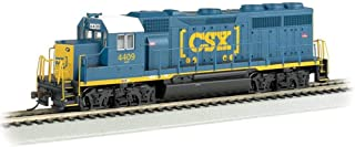 Bachmann Trains EMD GP40 Dcc Ready Diesel Locomotive CSX #4409 (Dark Future) - HO Scale, Prototypical Blue