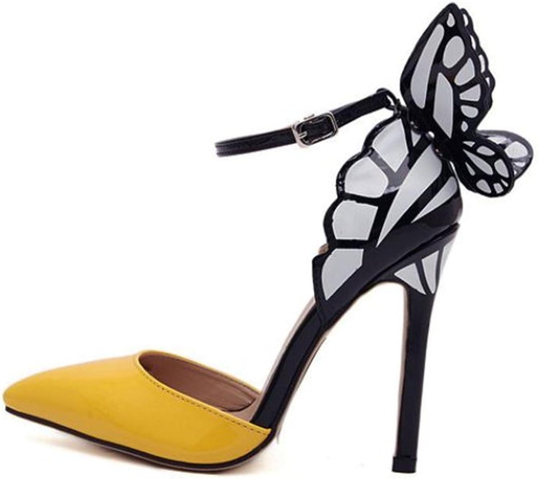 MINIKATA Lady Peep Toe Roman Sandals Summer Heels