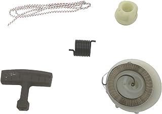 Cancanle Kit de reparación de Cubo de Resorte de polea de Arranque de Retroceso y Cuerda de Arranque para Husqvarna 137 142 E 235 236 240 E Motosierra