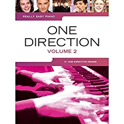 Really Easy Piano One Direction Volume 2 Easy Piano Book