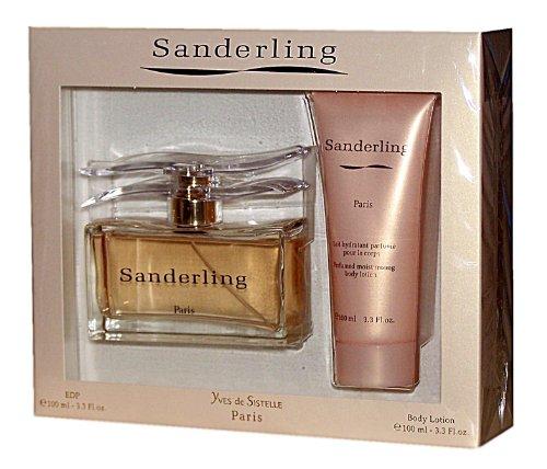 Yves de Sistelle PARIS SANDERLING Geschenkset, Inhalt: Eau de Parfum Spray 100 ml + Perfumed Bodylotion 100 ml