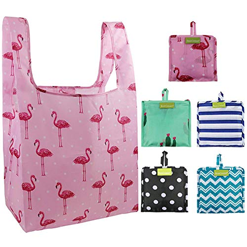Cute Foldable Reusable Grocery Bags