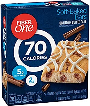 8-Pack Fiber One 70 Calorie Bar, Cinnamon Coffee Cake
