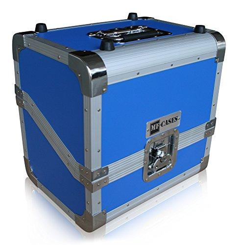 MF-Casesblau für 80 Vinyls Case DJ Platten Schallplatte Flightcase