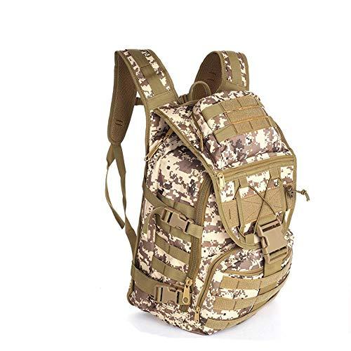 Hiking Backpack Yuan Ou Tactics Laptop Backpacks Military Travel Travel Camp Bag Computer Bag 1000D Nylon Hunting Bags DigitalDesert
