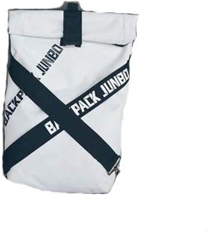 Mountaineering Backpack Groe Kapazitt Harajuku Rucksack-Student Fashion Trends Schultasche-Britischer Stil Rucksack-Mnnliche Weibliche,Weiß