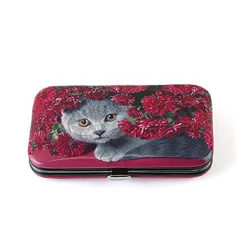 'Jellycat ongles Ness esair Cat with Flowers Nail Care Kit Manucure Voyage