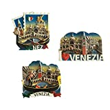 yqs imanes de Nevera 1 Piezas De Resina Italia País Imanes De Nevera Venecia Turismo Recuerdos Imanes De Nevera para Decoración del Hogar Estilo Venecia Al Azar