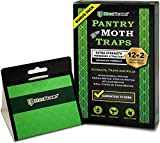 Best Moth Traps - MAXGUARD Pantry Moth Traps (12 Pack +2 Free) Review