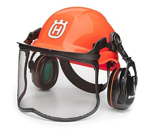 Husqvarna 592752601 Forest Head Protection Helmet , Orange