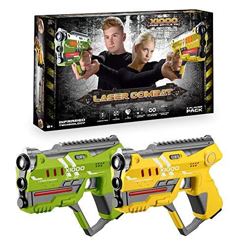 ToyStar Laser Tag Combat X-1000, Multiplayer Infrared Gun...