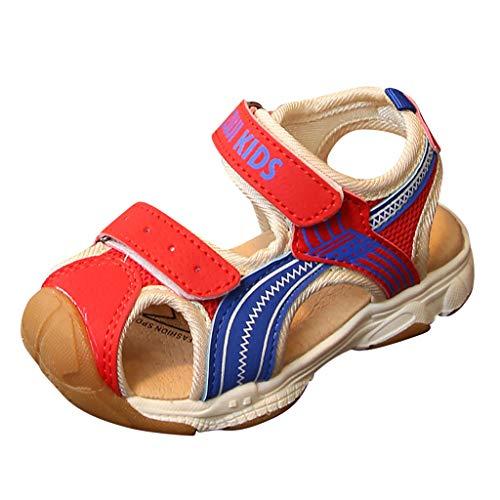 YWLINK Sandalias NiñOs,Antideslizante Zapatos De Fondo Suave para NiñOs Y NiñAs De Baotou, Sandalias Deportivas Zapatos De Playa Zapatos Casuales