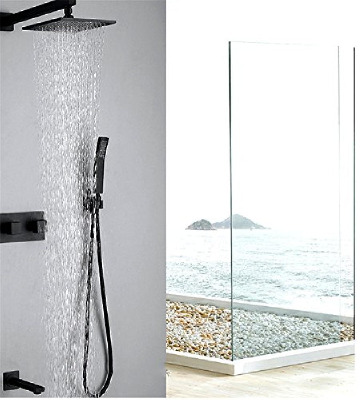 MAFYU Duschsysteme Voll Kupfer An Der Wand Mit Einer Dusche Unter Der Oberflche