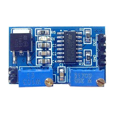 LEVEL GREATSG3525 PWM-Controller-Modul Frequenzsensor SG3525 PWM-Controller 200HZ-100KHZ Vorstand Tastverhältnis Einstellbare Module mit 78M05 Regulator Chip Sensor 8-12V
