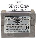 Van Aken Plastalina Modeling Clay - Gray, 1 lb, Modeling Clay