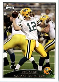 2009 Topps NFL Football Card #141 Aaron Rodgers Green Bay Packers - NFL Trading Card