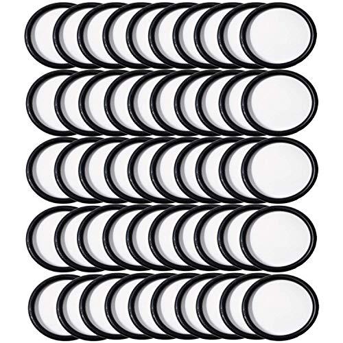 ZVac Hoover Convertible 50 Pack Round Belts Bulk Vacuum Belts Generic Replaces OEM 44783AG,40201048, H49258, 049258AG, AH20075