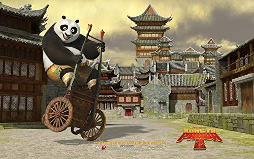 Zheng Adultos Puzzle 1000 Piezas Puzzles Kung Fu Panda Jugando Con Coches - Puzzle Regalos Para Personas Mayores Juegos De Rompecabezas Para La Damilia Decoración Del Hogar 50X70 Cm