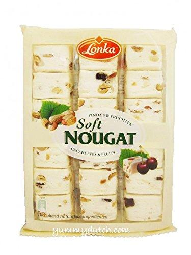Lonka Soft Nougat Erdnüsse & Früchte