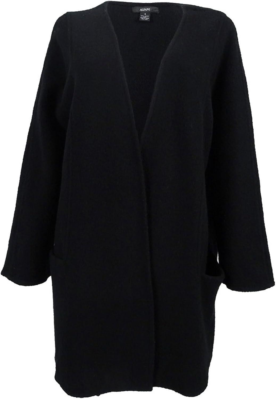 Alfani Womens Wool Overcoat Dress