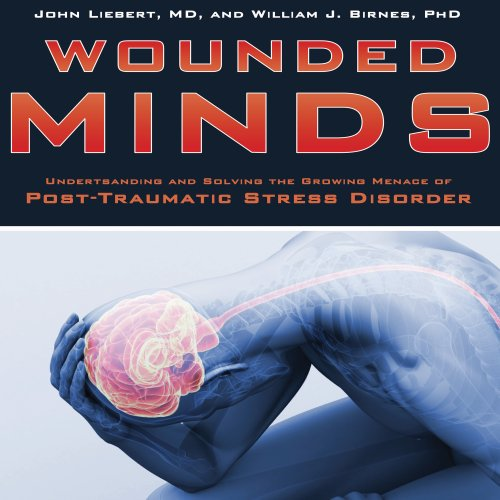 Wounded Minds audiobook cover art