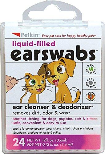 Petkin Liquid-filled Earswabs   Amazon