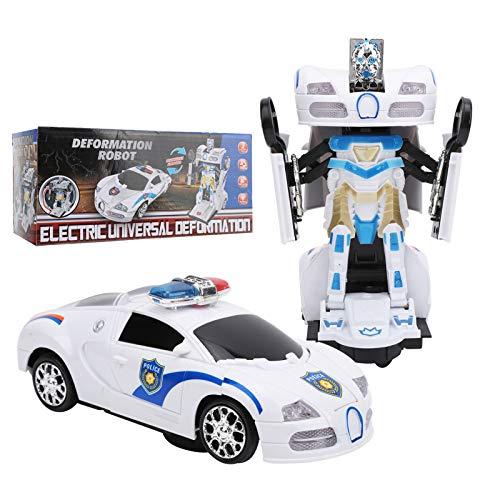 Aoca Robot Car, RC Racing Car Que transforma el vehículo Robot 2 en 1 RC Car para Regalos para el hogar