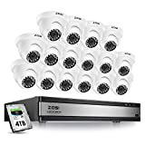 ZOSI 16 Channel Security Camera System 1080p,16 Channel DVR with