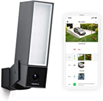 Netatmo Caméra de Surveillance Extérieure Intelligente avec éclairage intégré Presence Sécurité, Détection de Personnes,...