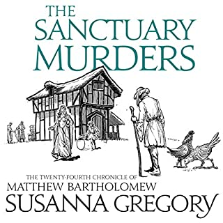 The Sanctuary Murders audiobook cover art