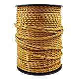 smartect Cable para lámparas de tela en color Dorado...