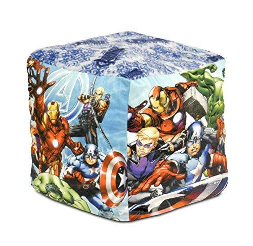 Marvel Avengers Square Pouf
