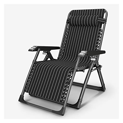 HOUMEL Garden Loungers And Recliners Zero Gravity Chair Static Load, Rust-resistant, Folding Adjustable Sun Lounger Chairs For The Beach Pool Outdoor Patio Garden Camping Feet Steel c317