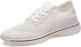 """DADIJIER Zapatilla de Deporte de Moda para Hombres 2""""(6 cm) Altura Aumento de Zapatos elevadores Causual Vapor Perforado L..."""