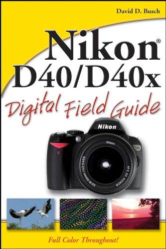 Nikon D40 / D40x Digital Field Guide (English Edition)