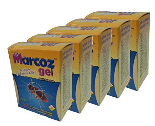 MMR Making Marvelous Powerfull Long-lasting Gel Marcoz Ultimate Cockroach Killer, 10 ml -Set of 5