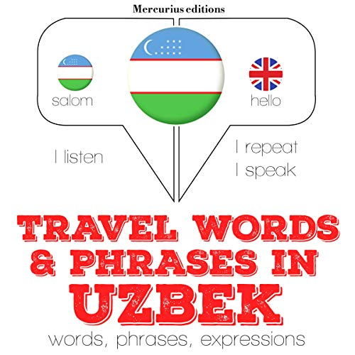 Travel words and phrases in Uzbek  By  cover art