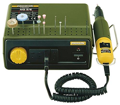 Proxxon 28704 MICROMOT Netzgerät NG 5/E mit 3 Anschlussbuchsen 12 Volt 5 Ampere