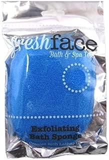 Swissco Fresh Face Exfoliating Bath Sponge (2 Pack)