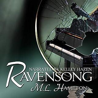 Ravensong audiobook cover art