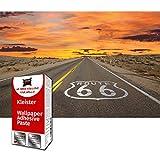GREAT ART Papel Tapiz Fotográfico Ruta 66 USA Highway - Mural 210 x 140 cm - Papel tapiz 5 Piezas Incluye Pasta