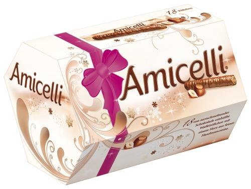 Amicelli, 4 Packungen je 18 Riegel (4 x 225 g)