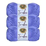 (3 Pack) Lion Brand Yarn Truboo Yarn, Thistle