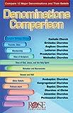 Denominations Comparison pamphlet- pkg of 5 pamphlets